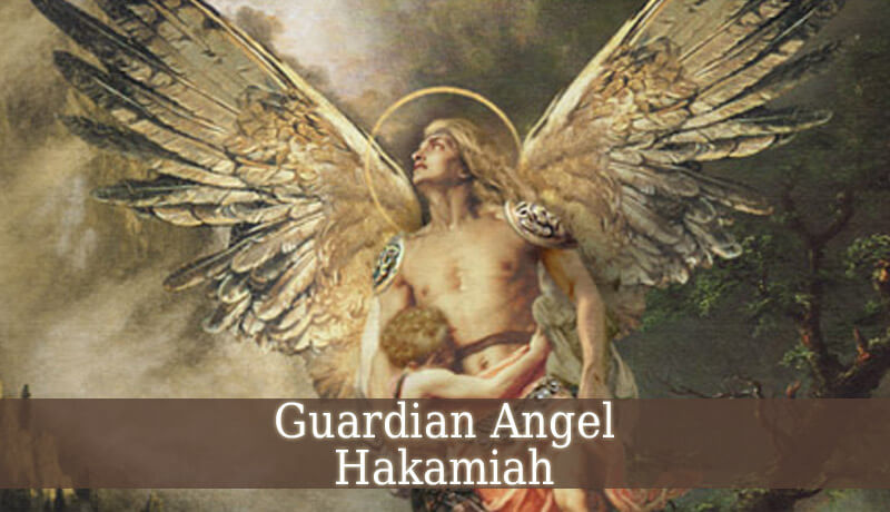 Guardian Angel Hakamiah - Angel Of Loyalty - Guardian ...