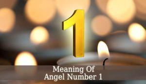 angel number 1