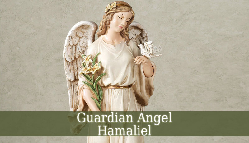 Guardian Angel Hamaliel - Angel Of Logic - Guardian Angel Guide