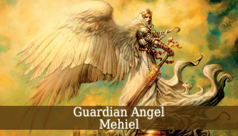 guardian angel mehiel angel of vivification guardian