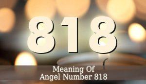818 Angel Number
