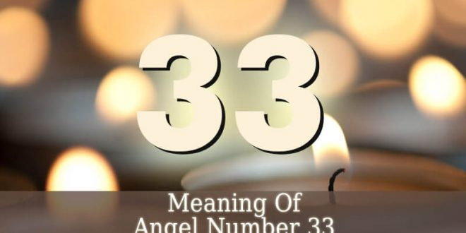 Angel Number 33