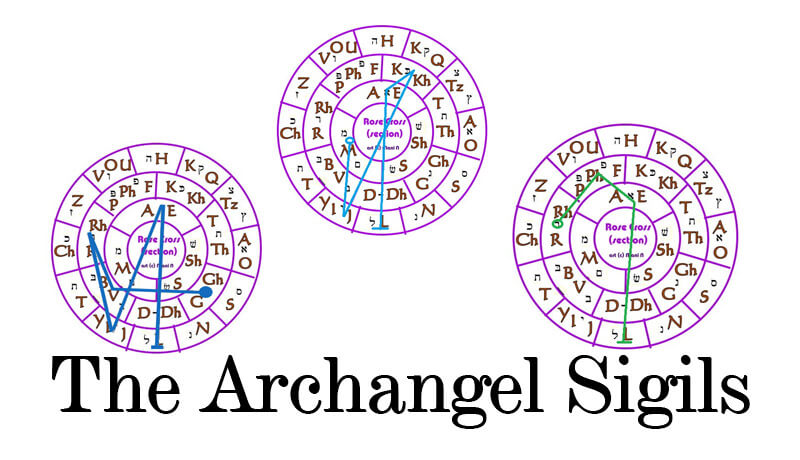 the archangel sigils the sigils of michael gabriel and