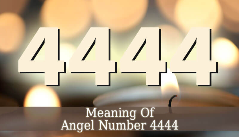 4444 Angel Number Angelic Message Guardian Angel Guide