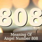 Angel Number 808