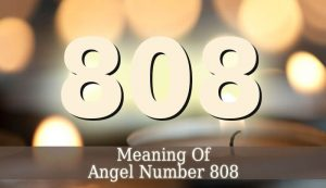Angel Number 808