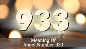 933 Angel Number