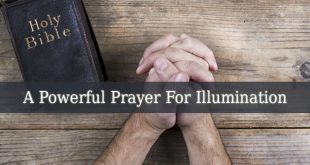 Prayer For Illumination
