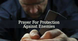 Prayer For Protection Against Enemies