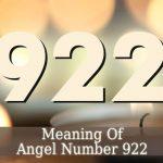 922 Angel Number