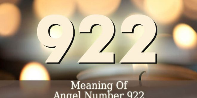 922 Angel Number