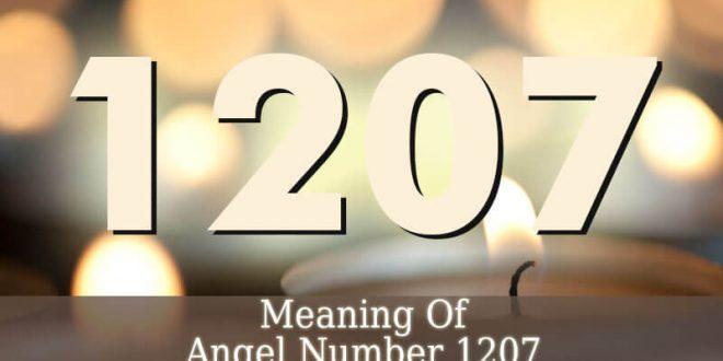 Angel Number 1207